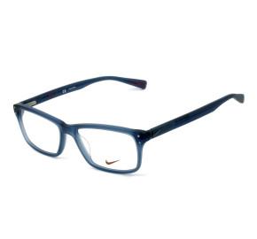 Nike 7245 - Azul Fosco 442 55mm - Óculos de Grau