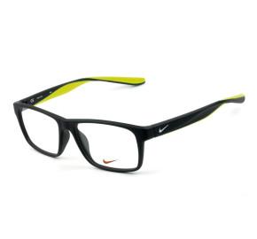 Nike 7101 - Cinza Fosco/Amarelo 060 53mm - Óculos de Grau