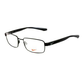 Nike 8178 - Preto Brilho/Cinza 003 53mm - Óculos de Grau