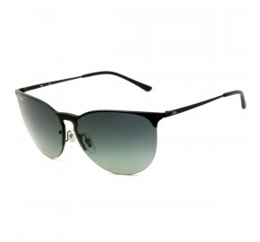 Ray Ban RB3652 Preto/Cinza Degradê 9014/11 41mm - Óculos de Sol