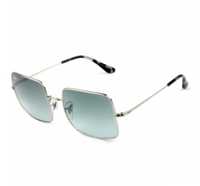 Ray Ban Square RB1971 - Prata/Azul Degradê Evolve 9149AD 54mm - Óculos de Sol