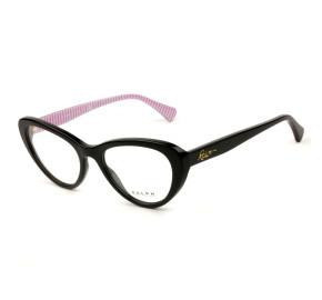 Ralph Lauren RA7107 Preto Brilho/Listrado 5001 53mm - Óculos de Grau