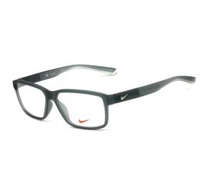 Nike Live Free 7092 - Cinza Fosco Translucido 068 55mm - Óculos de Grau