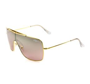 Ray Ban WingsII RB3697 - Dourado/Rose Espelhado 9050/Y2 62mm - Óculos de Sol