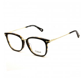 Chloé CE2734 - Preto/Turtle 004 53mm - Óculos de Grau