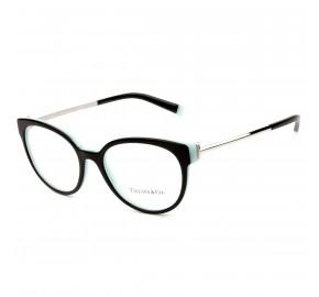 Tiffany & Co. TF2191 Preto Brilho/Azul 8055 53mm - Óculos de Grau
