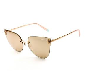 Tiffany & Co. TF3070 Dourado Espelhado 6105/0W 62mm - Óculos de Sol