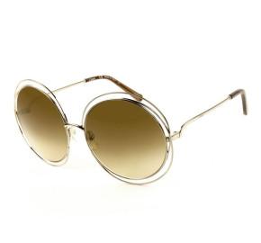 Chloé CE 114S Marrom Degradê 773 62mm - Óculos de Sol