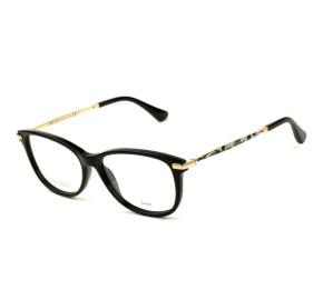 Jimmy Choo JC207 - Preto/Mesclado 807 54mm - Óculos de Grau