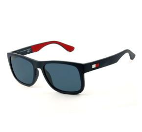 Tommy Hilfiger TH1556/S - Azul Fosco/Vermelho 8RUKU 52mm - Óculos de Sol