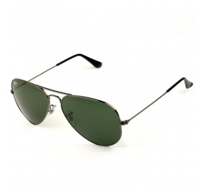 Ray Ban Aviador RB3025 Prata/G15 W0879 58mm - Óculos de Sol