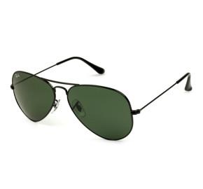 Ray Ban Aviador RB3026L - Preto Brilho/G15 L2821 62mm - Óculos de Sol