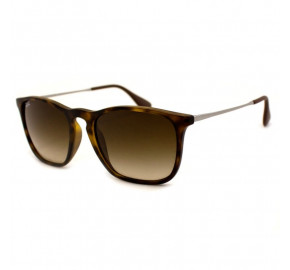 Ray Ban Chris RB4187L - Turtle/Marrom Degradê 856/13 54mm - Óculos de Sol