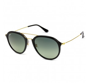 Ray-Ban Highstreet RB4253 Preto/Cinza Degradê 601/71 53mm - Óculos de Sol