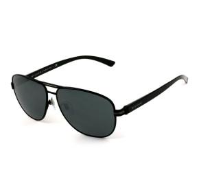 Bulgari 5033 - Óculos de Sol 128/87 Preto Fosco/Cinza Lentes 59 mm