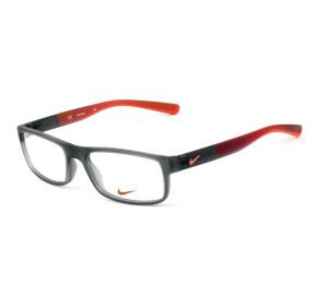 Nike Live Free 7090 - Óculos de Grau Cinza/Laranja 068 Lentes 53mm