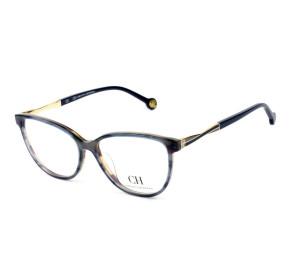 Óculos Carolina Herrera VHE 780 - Azul/Dourado 0ACE 53mm - Óculos de Grau