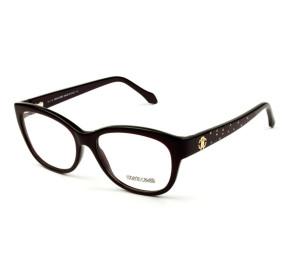 Roberto Cavalli Atria 846 - Vinho/Dourado 050 55mm - Óculos de Grau