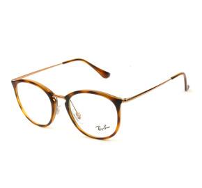 Ray Ban RB7140 Turtle/Bronze 5687 51mm - Óculos de Grau