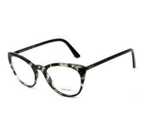 Prada VPR07V - Mesclado/Preto 528-1O1 53mm - Óculos de Grau