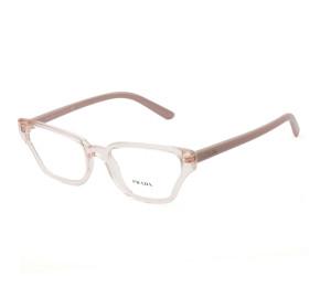 Prada VPR04X Rosa Translúcido 538-1O1 54mm - Óculos de Grau