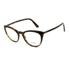 Prada VPR07V Turtle 2AU-1O1 53mm - Óculos de Grau