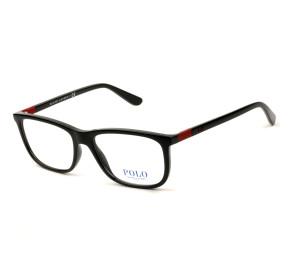 Polo Ralph Lauren PH2210 Preto Brilho 5001 55mm - Óculos de Grau