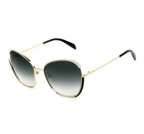 Emilio Pucci EP 131 - Dourado/Cinza Degradê 28B 58mm - Óculos de Sol
