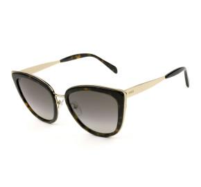 Emilio Pucci EP 92 - Turtle/Marrom Degradê 52F 55mm - Óculos de Sol