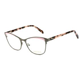 Emilio Pucci EP 5084 - Grafite/Rosa Claro 020 53mm - Óculos de Grau