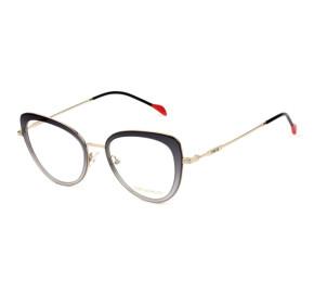Emilio Pucci EP 5114 - Cinza Translúcido/Dourado 020 52mm - Óculos de Grau