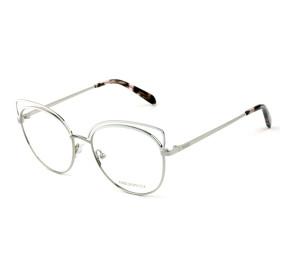 Emilio Pucci EP 5123 - Branco/Prata 020 54mm - Óculos de Grau