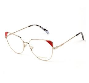 Emilio Pucci EP 5112 - Dourado/Laranja 028 57mm - Óculos de Grau