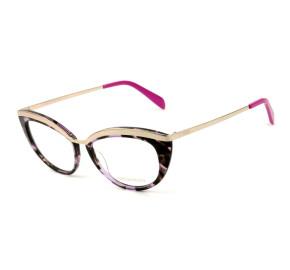 Emilio Pucci EP 5092 - Mesclado/Dourado 074 52mm - Óculos de Grau