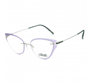 Silhouette 5500 GU - Roxo/Cinza 7200 52mm - Óculos de Grau