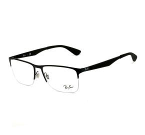 Ray Ban RB6335 Preto Fosco 2503 56mm - Óculos de Grau