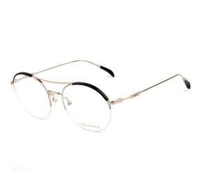 Emilio Pucci EP 5108 - Preto/Rosa/Dourado 005 52mm - Óculos de Grau