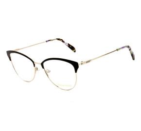 Emilio Pucci EP 5087 - Preto/Dourado 005 53mm - Óculos de Grau