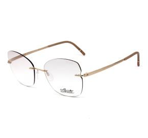 Silhouette 5529 HF - Dourado 3525 55mm - Óculos de Grau