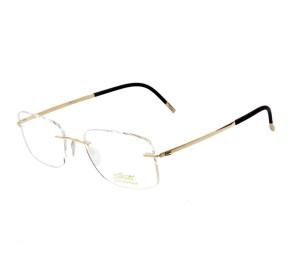 Silhouette 5471 - Dourado/Preto 20 6051 55mm - Óculos de Grau