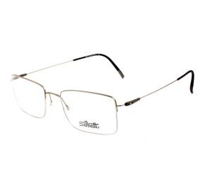 Silhouette 5497 - Dourado/Marrom 75 7630 53mm - Óculos de Grau