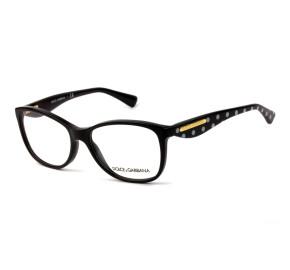 Dolce & Gabbana DG3174 - Preto 2877 54mm - Óculos de Grau