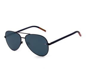 Tommy Hilfiger TJ0008/S - Azul/Fosco FLLKU 60mm - Óculos de Sol