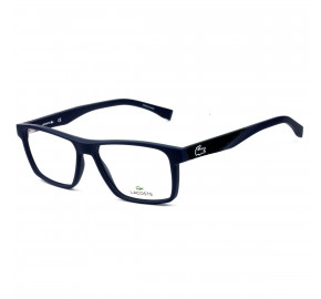 Lacoste L2843 - Azul Fosco/Preto 424 56mm - Óculos de Grau