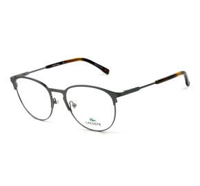 Lacoste L2251 - Cinza Fosco 033 52mm - Óculos de Grau