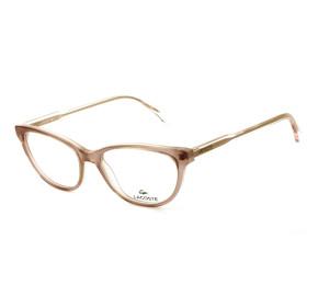 Lacoste L2850 - Rosa/Dourado 662 53mm - Óculos de Grau