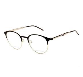 Tommy Hilfiger TH1622 Preto/Dourado GI46 52mm - Óculos de Grau