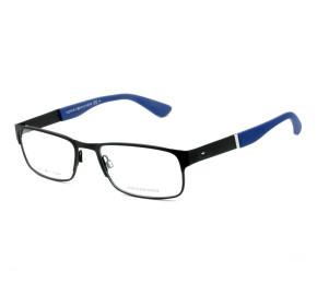Tommy Hilfiger TH1523 Preto/Azul 003 54mm - Óculos de Grau