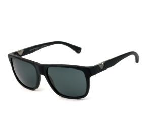 Emporio Armani EA 4035 Preto Fosco/Cinza 5042/87 58mm - Óculos de Sol