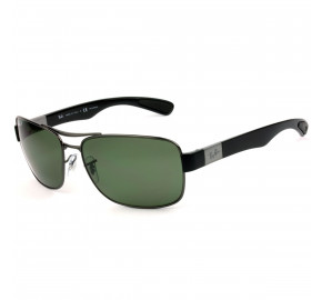 Ray Ban RB3522 Grafite/G15 Polarizado 004/9A 64mm - Óculos de Sol